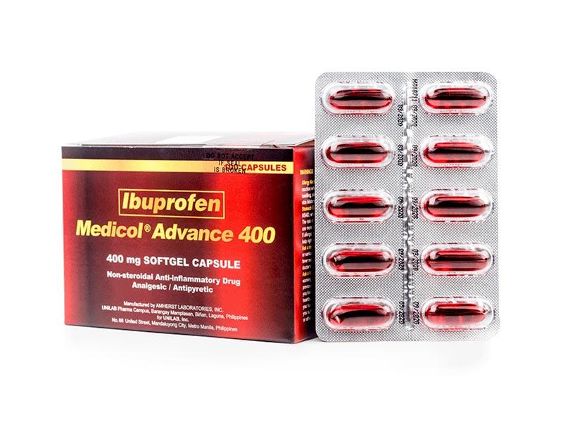 Ibuprofen buscopan Fixed