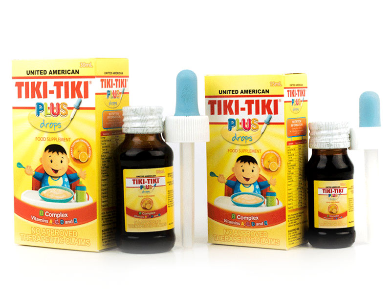Tiki-Tiki Plus Drops