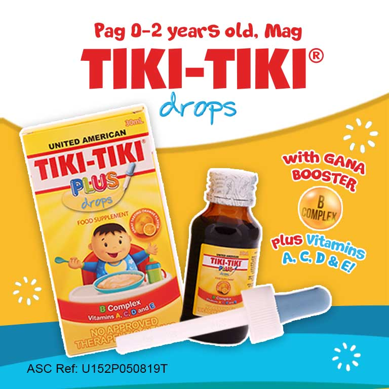 Tiki-Tiki® Plus Drops