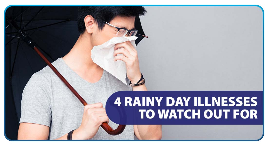 4 Rainy Day Illnesses to Watch Out For