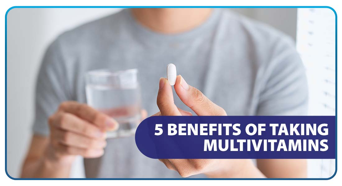 5 Benefits of Taking Multivitamins Daily