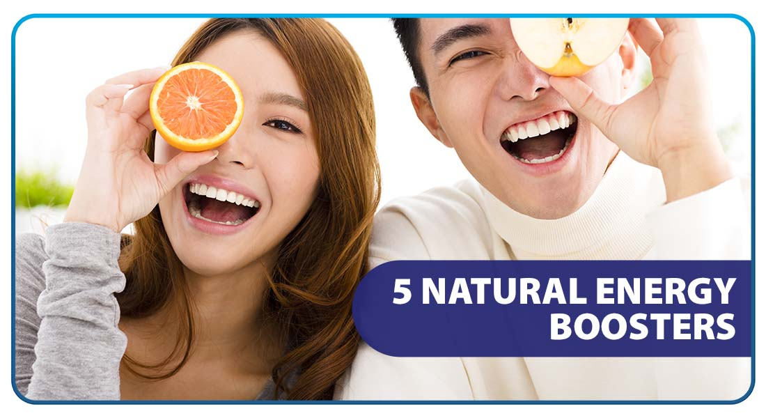5 Natural Energy Boosters