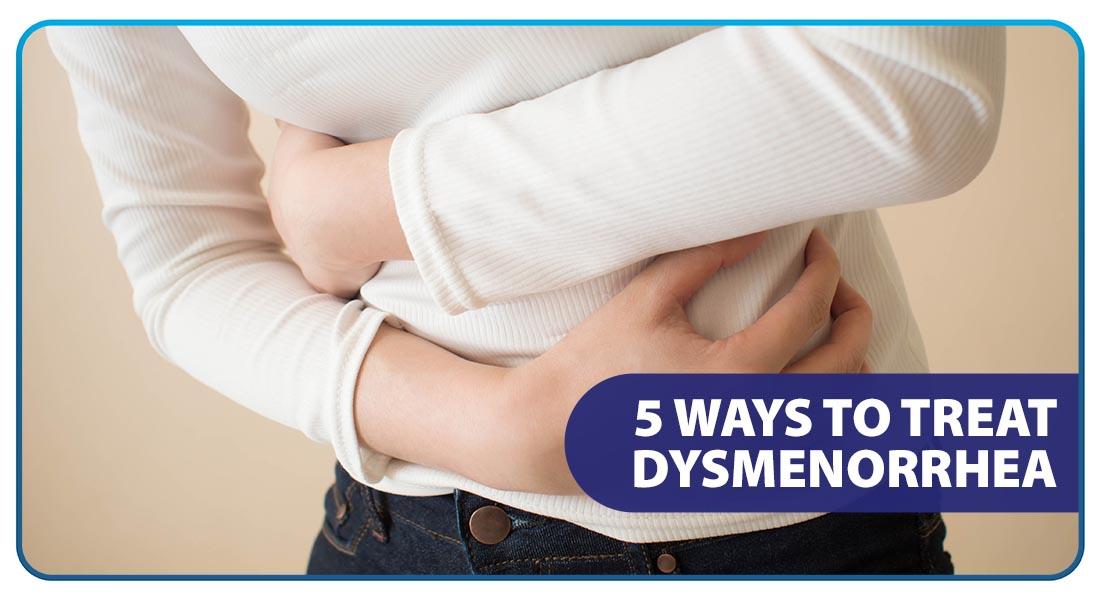 5 Ways to Treat Dysmenorrhea