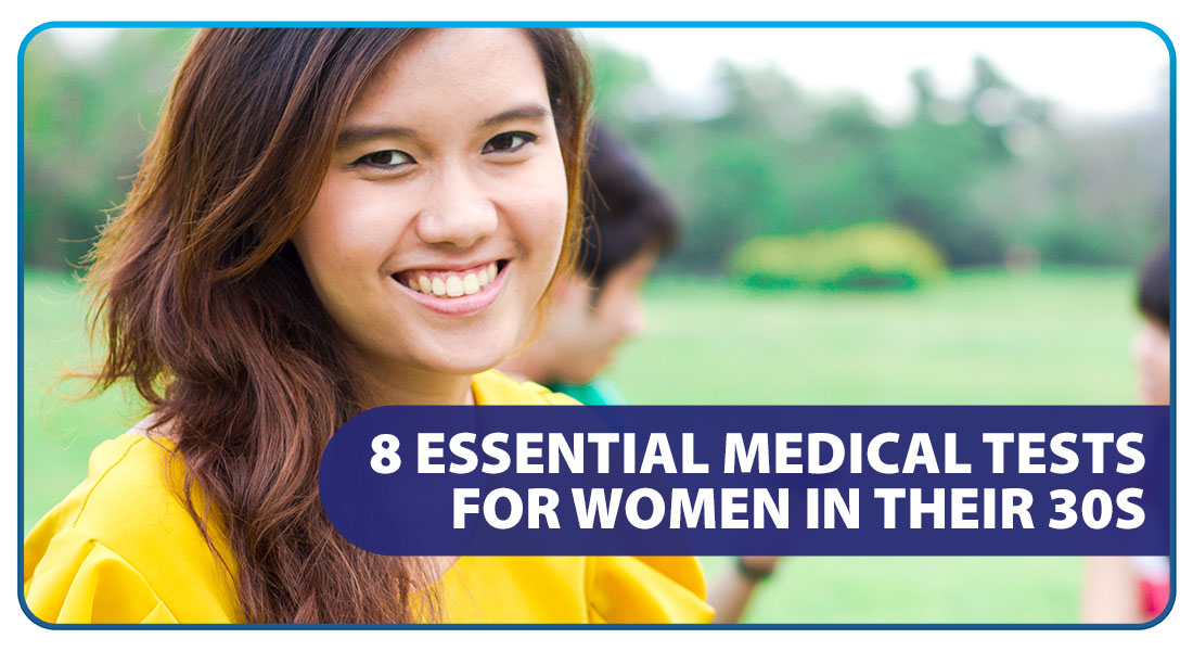 8 Essential Medical Tests for Women in Their 30s