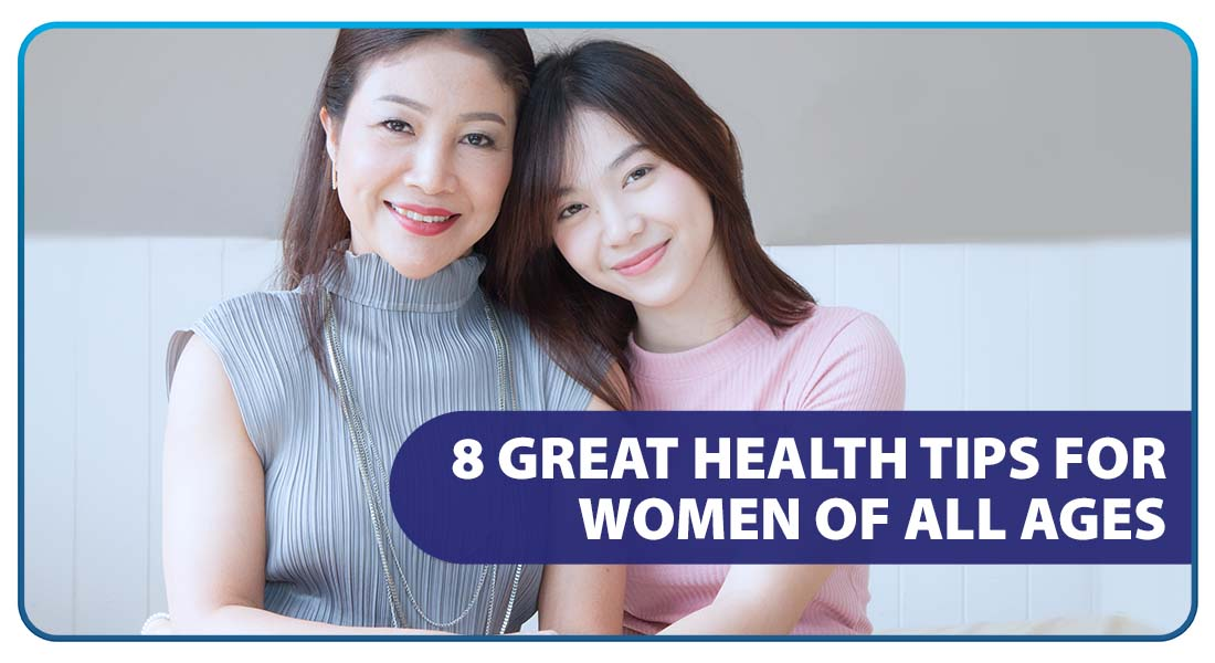 8 Great Health Tips for Women of All Ages