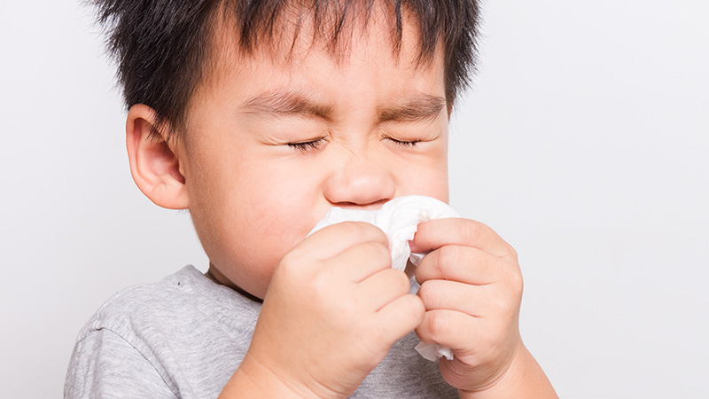 Allergy in Kids: Know what to do