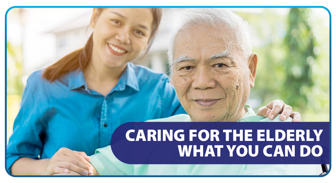 Caring for the Elderly: What You Can Do