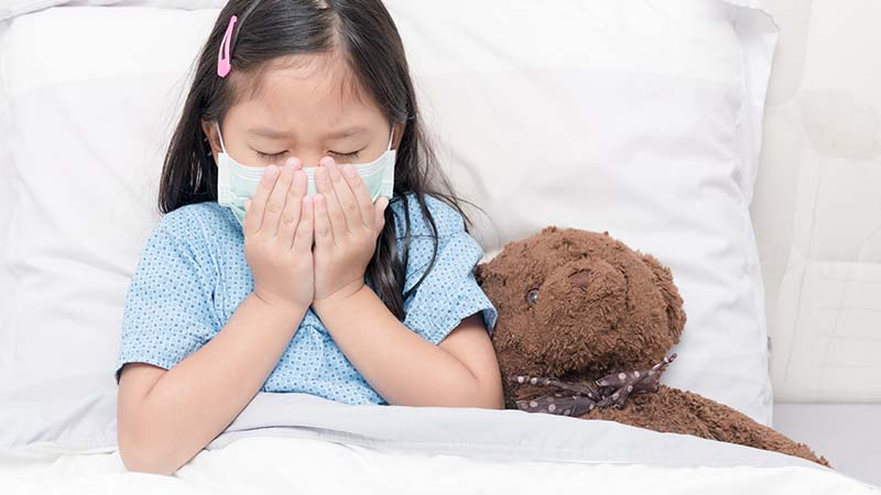 Kids and Colds: Symptoms, Treatment